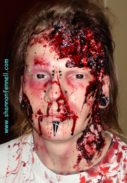 Shannon Fennell Make Up Artist Home Page